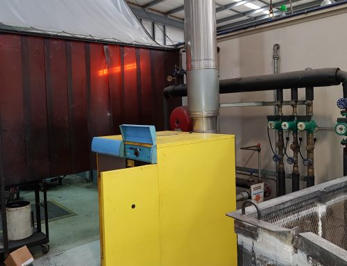 120KW Manufacturing Plant Heating Boiler Replacement