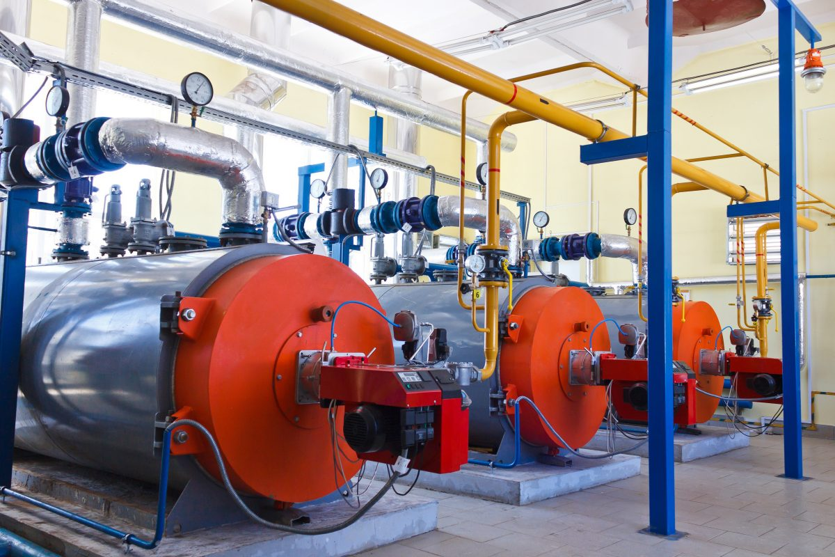 Industrial boilers that need servicing